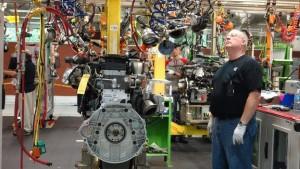 Cummins engine plant in Columbus, Indiana.