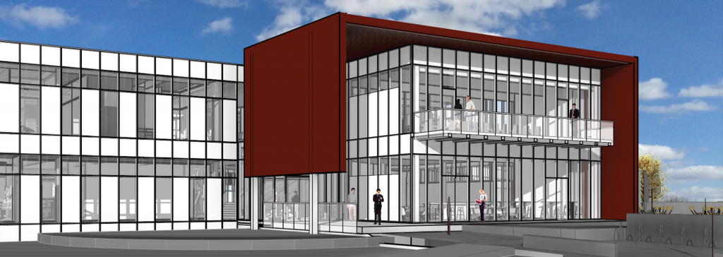 The future Iowa State University Economic Development Core Facility