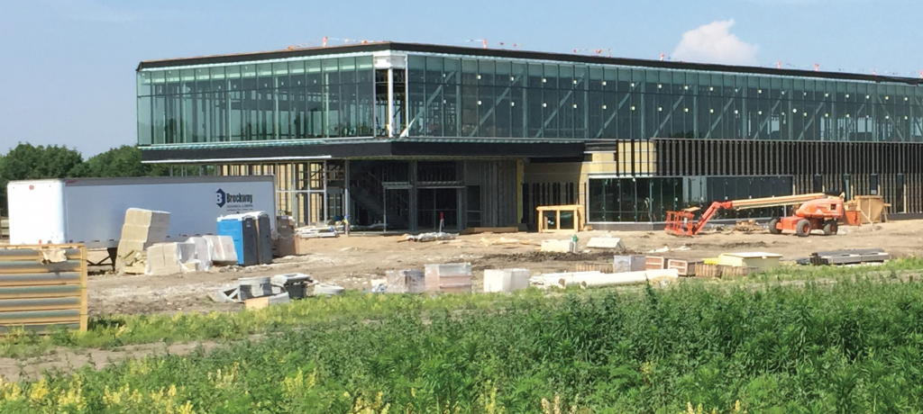 Construction, Summer 2015