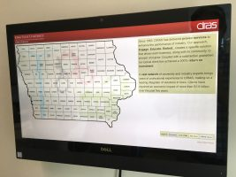 CIRAS has an online map where you can find details of our impact in any Iowa county.