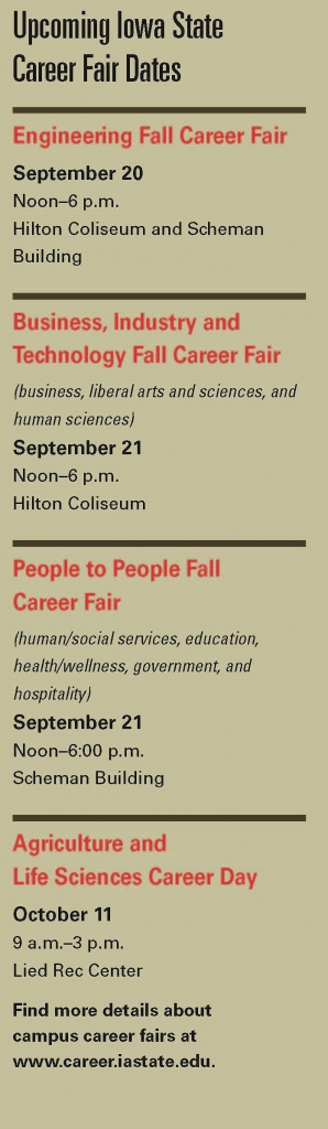 career fair sked 2016F